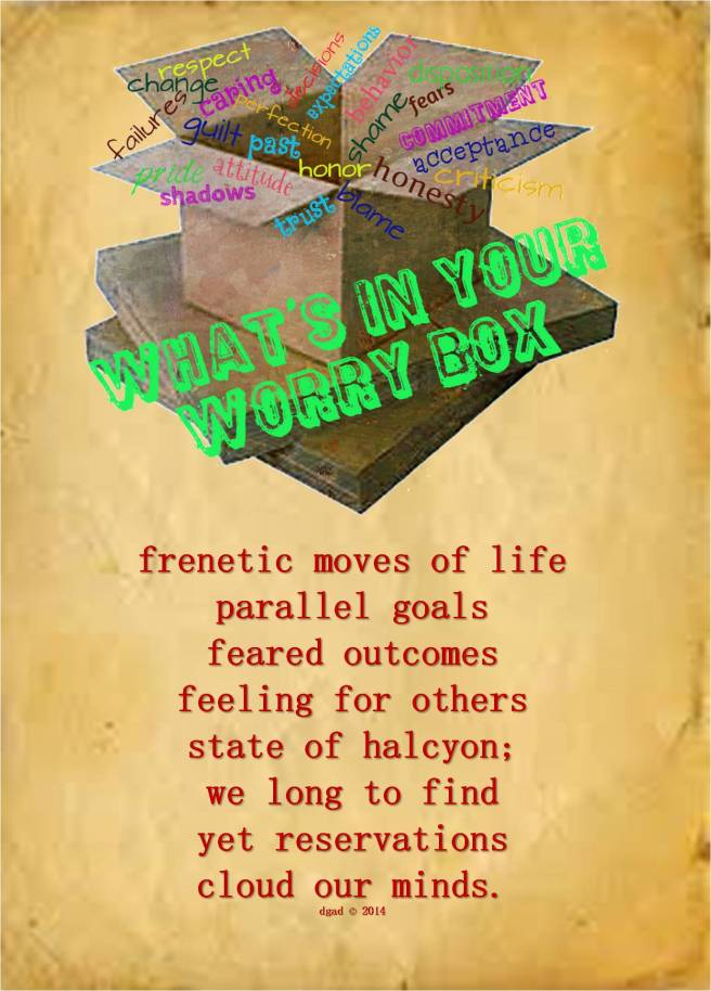 what's in your worry box?